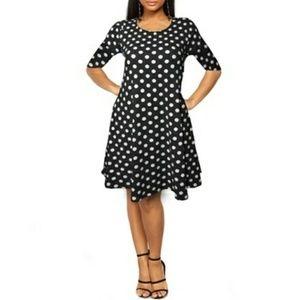 Ella Samani Women's Polka dot Dress Size 3X